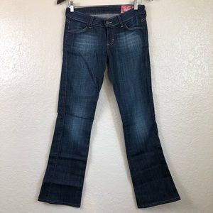 SIWY bootcut low rise jeans Harley Rewind